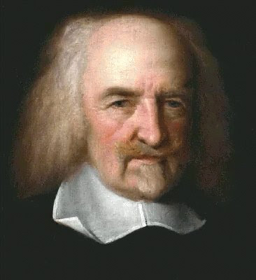 painting of thomas hobbes