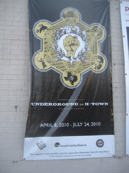 underground in h-town poster