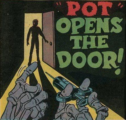 pot opens the door