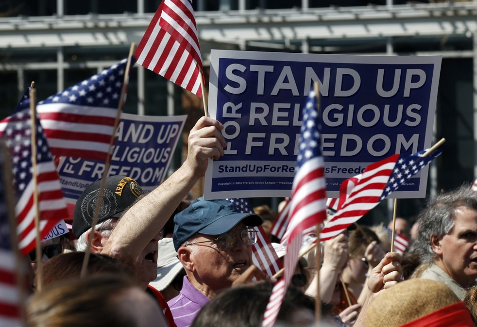 stand up religious freedom