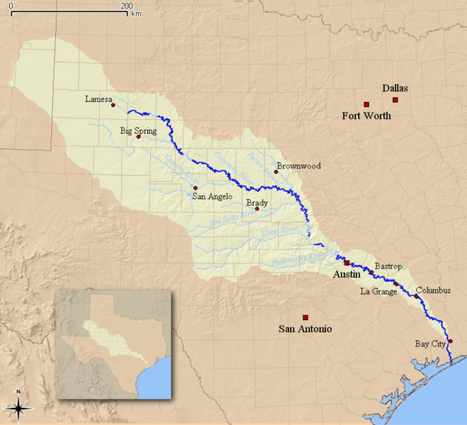 colorado texas watershed