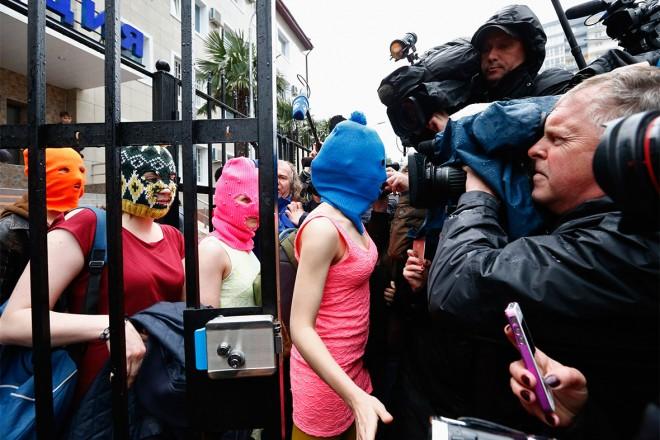 pussy riot at Sochi