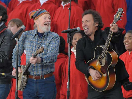seeger and springsteen 2