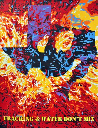 carlos fracking art