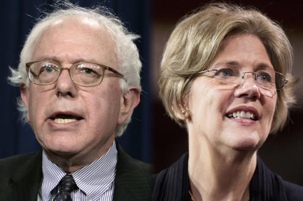 Bernie Sanders, Elizabeth Warren