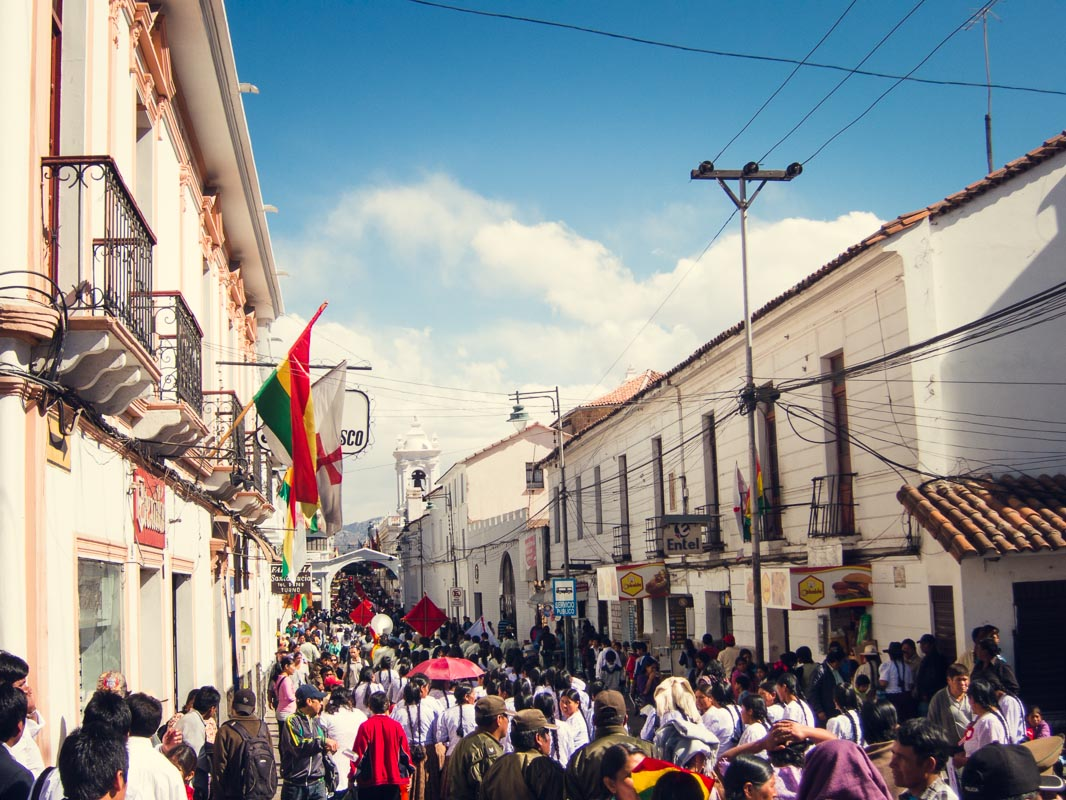 independence day in sucre