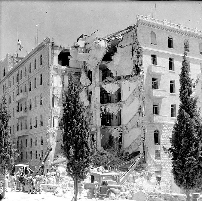 bombing of King David Hotel