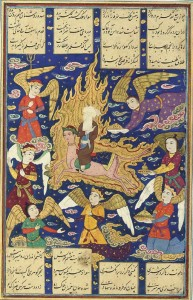 prophet muhammad ascends