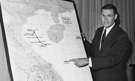 gulf of tonkin mcnamara press briefing