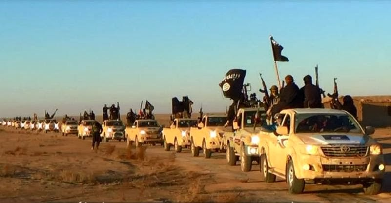 isis truck convoy