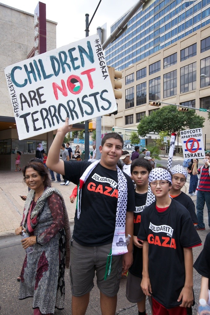 pogue gaza children
