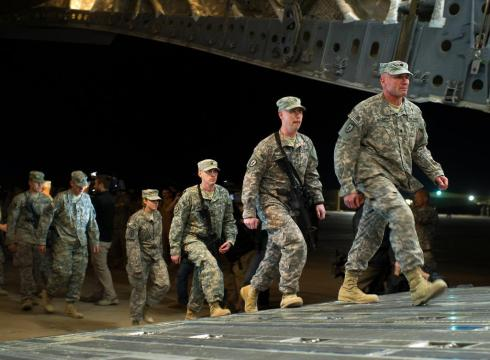 soldiers leave iraq