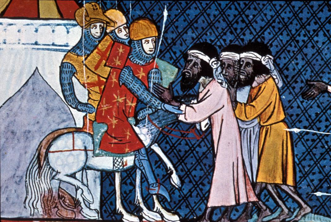 crusaders and muslims