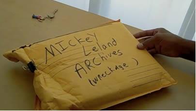 mickey leland archive envelope