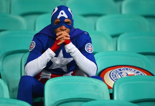 captain america ponders