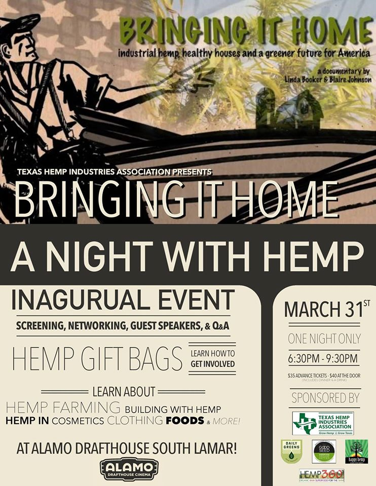 bringing it home with hemp