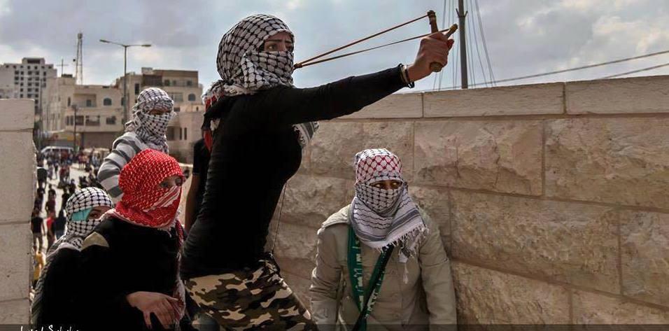 Palestinian slingshot crp