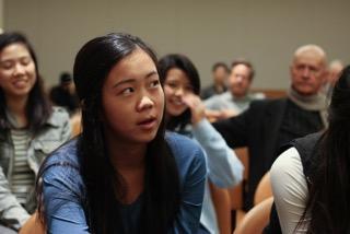 Jonah - UC Berkeley student in audience