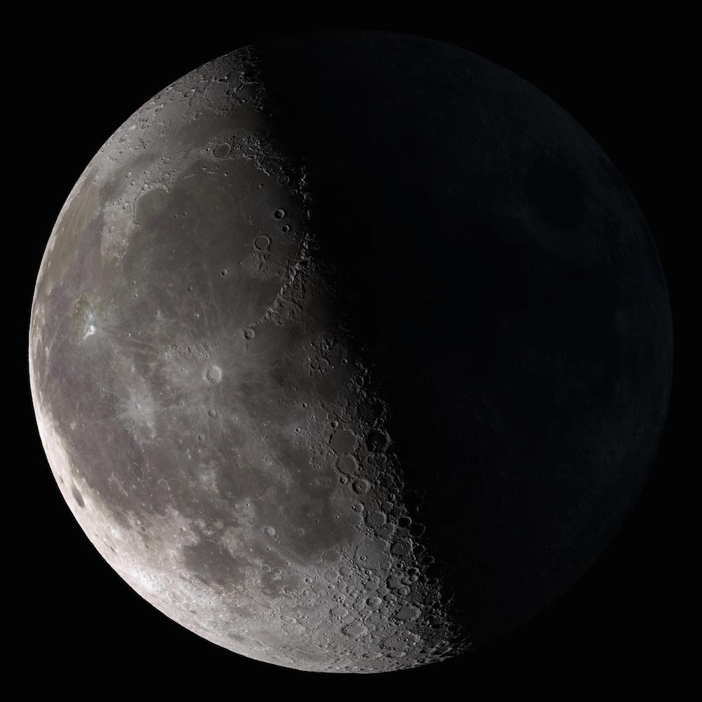 Third Quarter Moon Flickr sm