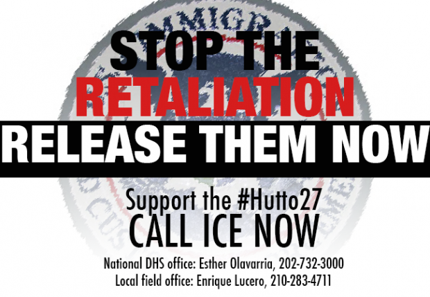 hutto hunger strike