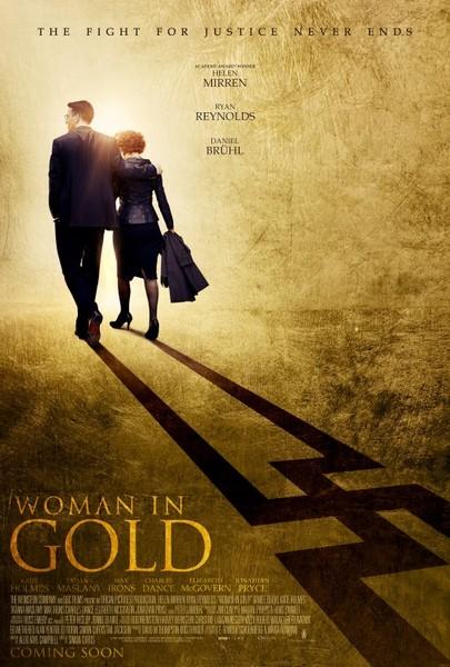 Alan films Woman in Gold