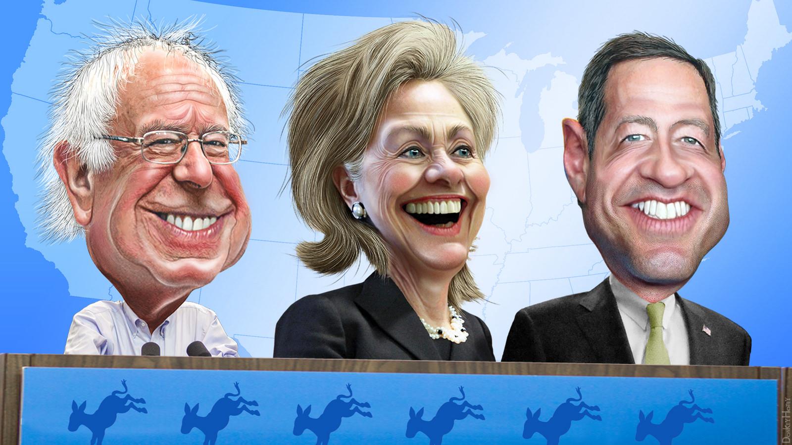 Bernie, Hillary & O'Malley