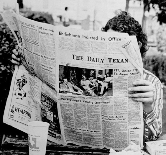 Daily Texan vintage