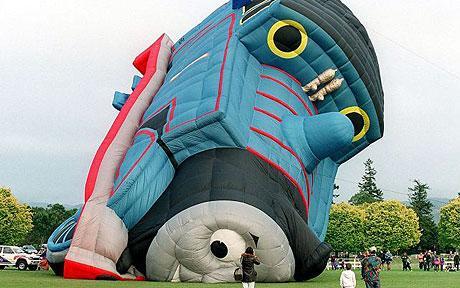 Deflated train