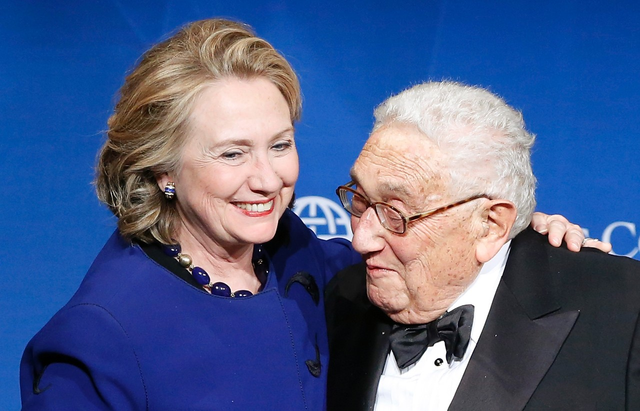 hillary and kissinger