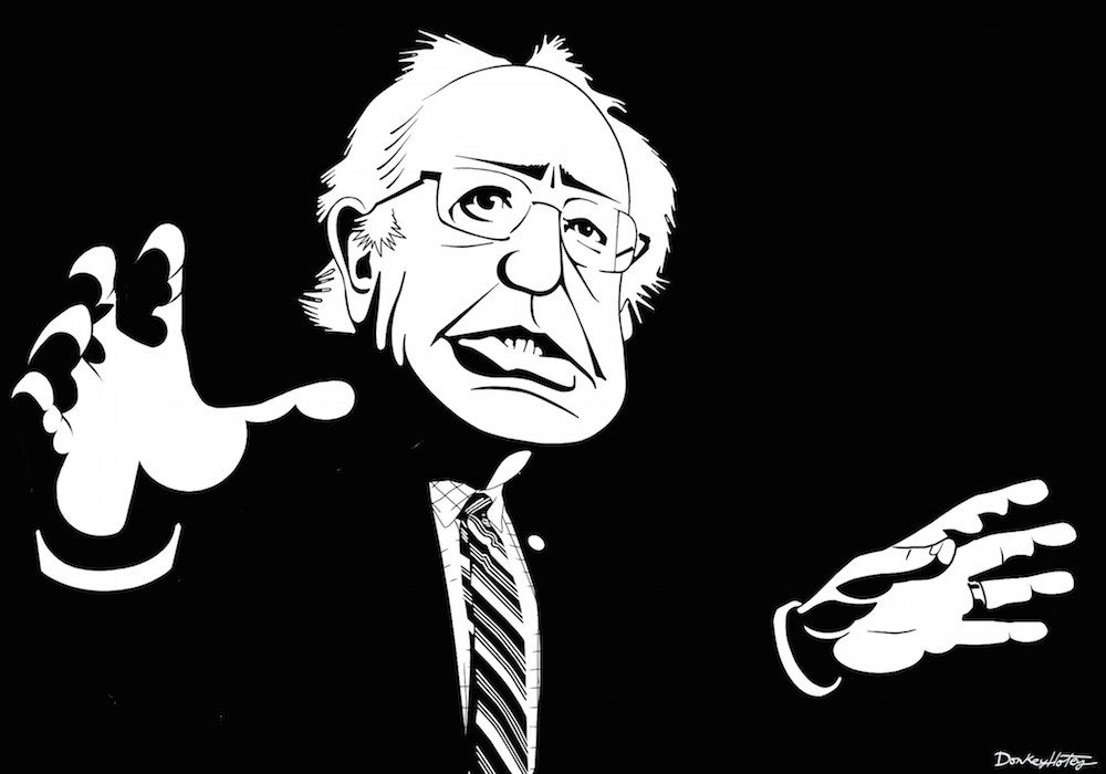 Bernie Sanders Dokey Hotey sm