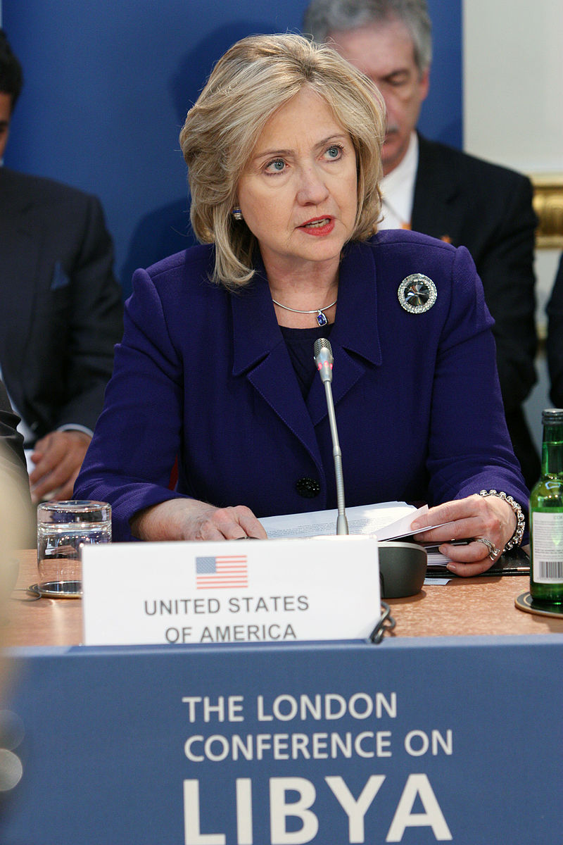 Hillary Clinton London conf on Libya