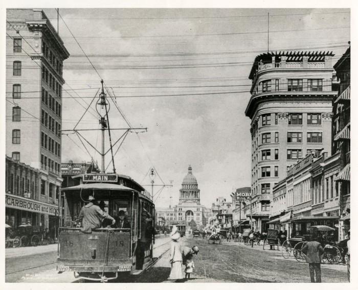 Austin streetcar era