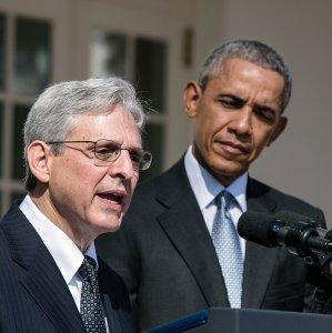 Merrick Garland and Obama