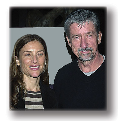 Barbara Williams & Tom Hayden