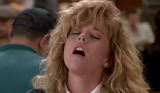 Meg Ryan orgasm scene