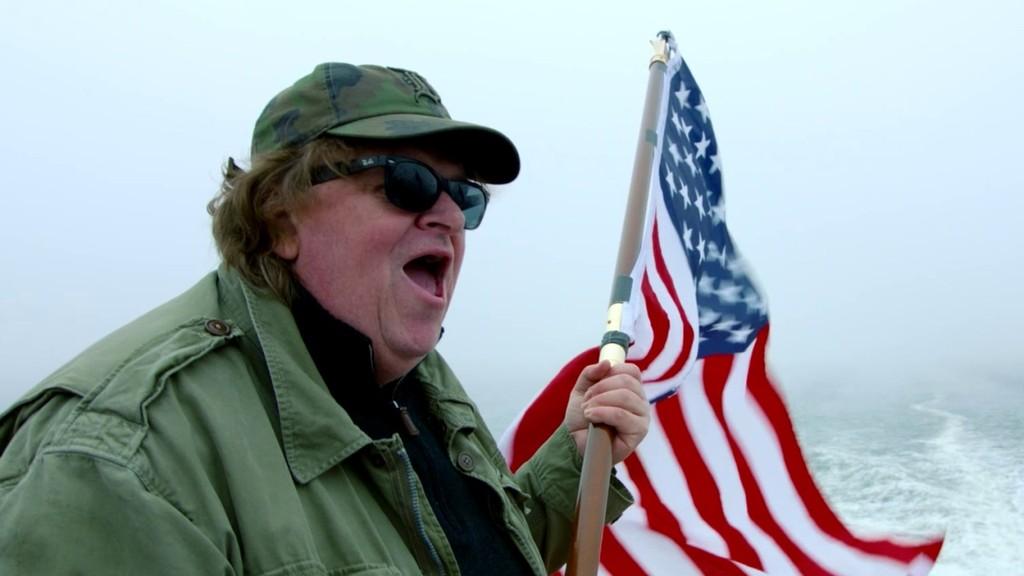 Michael Moore flag