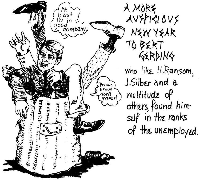 Bert Gerding Cartoon