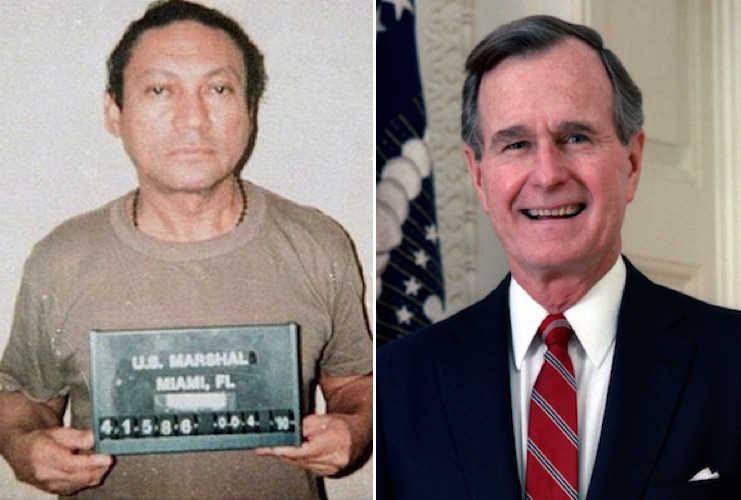 James McEnteer : Chained together in Hell: Manuel Noriega