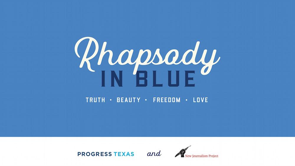 Glenn Smith and Thorne Dreyer : METRO EVENT   Thursday's 'Rhapsody in Blue'  unites activists, artists