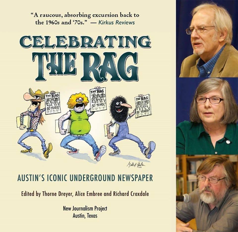 The Rag Blog : METRO EVENT | \'Celebrating The Rag\' at Half Price ...