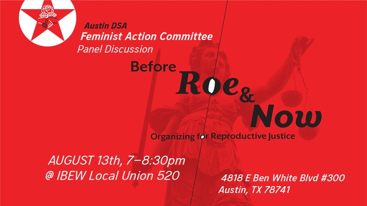 Organizing for reproductive justice : METRO EVENT | Before