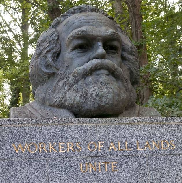 karl marx was right Karl marx was responsible for 100 million murdered and even more  he wasn't  right about economics — his theory of economics is tripe.