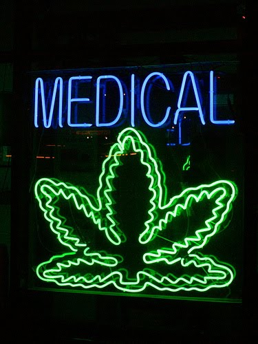 5476e306552 Sign from Zen Healing Collective, West Hollywood, CA. Photo by Caveman  92223 / Flickr / Creative Commons. So the war on drugs continues, but there  are major ...