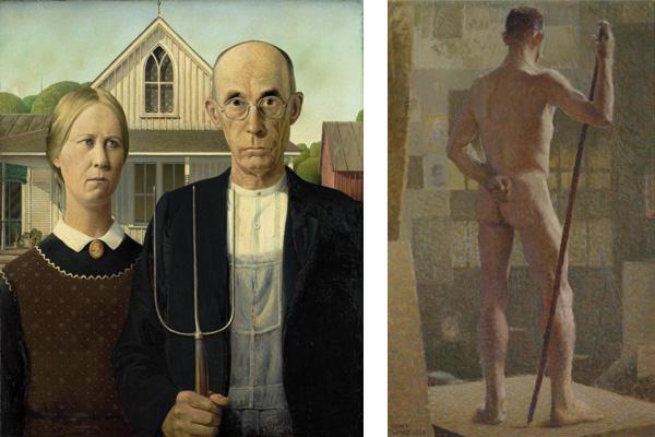 BOOKS Doug Ireland Iconic Artist Grant Wood Was Man Of Many Closets